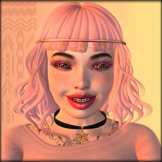 glitter-face